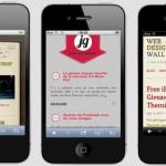 Version mobil de site