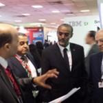 TIC – M. Ali Hassan Bahdon visite une vitrine high-tech de l'Egypte