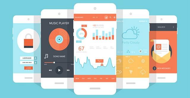 10 tendances design d'applications mobile (1/2)