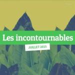 Les sites web incontournables juillet 2015