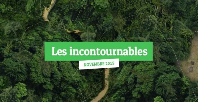 Les sites web incontournables-novembre 2015